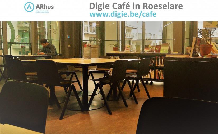 Nieuwe data voor de Digie cafés in Roeselare én Rumbeke!